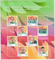 Australia ASC 3416-3423 2016 Gold Medallist Sheetlet,mint Never Hinged - 2010-... Elizabeth II