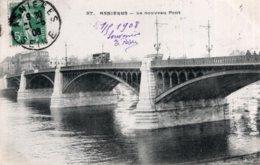 CPA   92   ASNIERES---LE NOUVEAU PONT---1908 - Asnieres Sur Seine