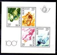 Hoja Bloque De Bélgica N ºYvert 58 ** Valor Catálogo 8.5€ (OFFER) - Bloques 1962-....