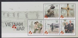 Australia ASC 3447MS 2016 Vietnam War, Miniature Sheet,mint Never Hinged - Mint Stamps