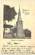 CINEY  L' église. Souvenir Ciney - Ciney