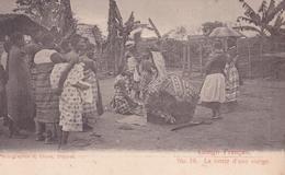 CONGO FRANCAIS N° 16  La Vente D'une Vierge  ( Plan Animé ) - Congo Français - Autres