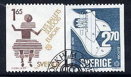 SWEDEN 1983 Europa Used.  Michel 1237-38 - Sweden