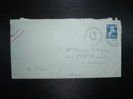 LETTRE TP 15F OBL.31-5 1955 AIN-M'LILA CONSTANTINE - Algérie (1924-1962)