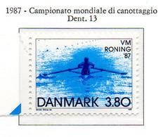 PIA - DANIMARCA -1987 : Campionato Mondiale Di Canottaggio  - (Yv 902) - Canottaggio