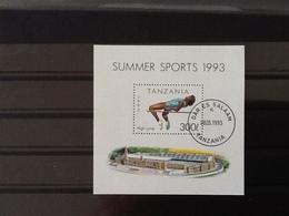 Tanzania 1993 Summer Sports High Jump. - Tanzanie (1964-...)