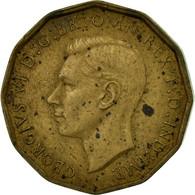 Monnaie, Grande-Bretagne, George VI, 3 Pence, 1943, TB, Nickel-brass, KM:849 - 1902-1971 : Monnaies Post-Victoriennes