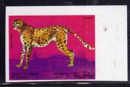 OMAN STATE 1994 FAUNA NATURE SCENES SERIES WILD ANIMALS CHEETAH GHEPARDO MNH - Oman