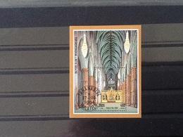 Madagaskar 1994 Block Abbaye De Westminister Londres. - Madagascar (1960-...)