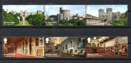 United Kingdom UK Windsor Castle Europa CEPT 2017 MNH - Ungebraucht