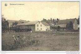 SEVISCOURT ..-- Le Village . 1935 Vers BRUXELLES ( Mme HANNON ) . Voir Verso . - Libramont-Chevigny