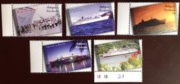Antigua 2001 Freewinds Ships MNH - Antigua Et Barbuda (1981-...)