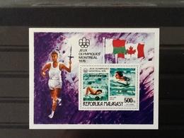 Malagasy Block Olympic Games Montréal 1976 MNH. - Madagascar (1960-...)