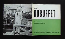 JEAN DUBUFFET LA FLEUR DE BARBE 597 MOSTRA DEL CAVALLINO SAN MARCO VENEZIA 1964 - Livres, BD, Revues