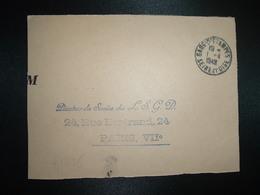 DEVANT OBL.1-4 1949 GARE D'ETAMPES SEINE ET OISE (91 ESSONNE) - Poststempel (Briefe)