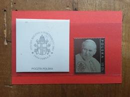 POLONIA - 25° Anniversario Pontificato Papa Giovanni Paolo II - Su Lamina D'argento - Nuovo + Spese Postali - 1944-.... Repubblica