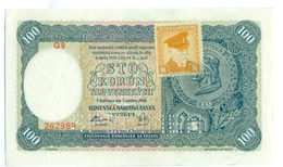 Slovakia 100 Korun 1940 SPECIMEN, Slovaquie,Slovacchia, Slowakei, Sto Korun, G9 (1) - Slowakije