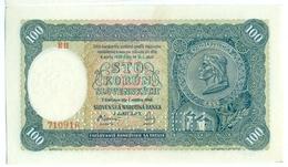 Slovakia 100 Korun 1940 SPECIMEN, Slovaquie,Slovacchia, Slowakei, Sto Korun, G9 (2) - Slowakei