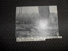 """Origineel Knipsel ( 2199 ) Uit Tijdschrift """" Ons Volk """"  1936  :  Brand  Iseghem  Izegem - Zonder Classificatie"""