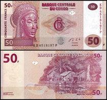 100 Pieces Congo 50 Francs 2013 UNC - Congo
