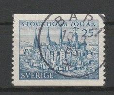 MiNr. 383 A Schweden 1953, 17. Juni. 700 Jahre Stockholm. - Schweden