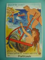 ST/153 - 56 - Port Louis - Pêche à La SIRENE   -GABY 139- - Port Louis