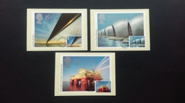 1983 'EUROPA' BRITISH ENGINEERING ACHIEVEMENTS STAMPS P.H.Q. CARDS WITH A LONDON S.W. F.D.I. POSTMARK - Maximum Cards