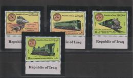 Iraq 1975 Trains Série 764-7 4 Val ** MNH - Iraq