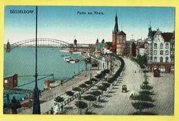 * Dusseldorf (Nordrhein Westfalen - Deutschland) * (Serie Iris J.W.B., Nr 13) Partie Am Rhein, Rein, Canal, Bateau, Port - Duesseldorf