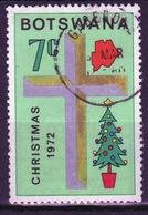 Botswana 1972 Single 7c Definitive Stamp From The Christmas Set. - Botswana (1966-...)