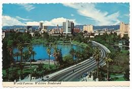 USA CALIFORNIA - LOS ANGELES - WORLD FAMOUS WILSHIRE BLVD, AND BEAUTIFULL Mc ARTHUR PARK - Los Angeles