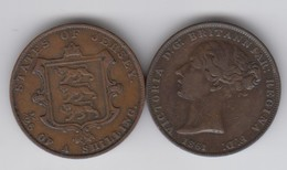 Jersey Coin QV One Twentysixth Of A Shilling 1/26 Dated 1861 - Jersey