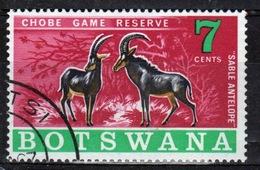 Botswana 1967 Single Commemorative Stamp From The Chobe Game Reserve Set. - Botswana (1966-...)