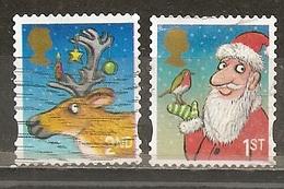 Grande- Bretagne Great Britain 2012 Noel Christmas Obl - 1952-.... (Elizabeth II)