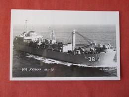 RPPC US Navy  USS Krishna ARL 38       Ref 3155 - Oorlog