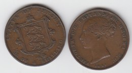 Jersey Coin QV One Twentysixth Of A Shilling 1/26 Dated 1851 - Jersey