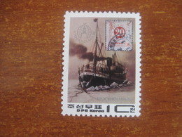 Korea North 1986 Stockholmia Stamp Exhibition Ships ** - Korea, North