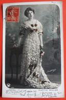 REINES De La MODE - Marthe REGNIER Comédie Française Artiste Femme Photo BOYER - Mode