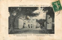 SAINT DENIS PAR SAISSAC RUE DE LA POSTE 1905 - Other Municipalities