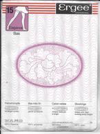 PAIRE De Bas ERGEE Bas Super Extensible 15 Elégance 788 - T 2 Poivre -avec Emballage D'origne - Bas