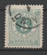 MiNr. 19 A Schweden 1872, 1. Juli/1877, 1. Jan. Freimarken: Ziffern Und Kronen Im Kreis. - Oblitérés