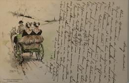 Fritz Reifs Suisse // Schwarwald Postk.M.Seeger Stuttgart 1908 - Illustratoren & Fotografen
