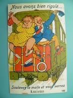 ST/165 - 80 - Amiens - Train, Passagers Clandestins- GABY 103- - Amiens