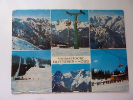 """Cartolina Viaggiata  """"Hinterstoder HUTTNER - HOSS"""" 1989 - Altri"""