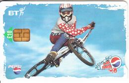 UK - BMX, Pepsi Max/National Express 2(PUB107, 10 Pounds), Tirage %80000, Exp.date 31/03/00, Used - Sport