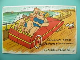 ST/166 - 85 - Les Sables D'Olonne- Voiture à Pédale- GABY 17- - Sables D'Olonne
