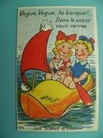ST/167 - 85 - Les Sables D'Olonne- Barque Sabot- GABY 23- V1951 - Sables D'Olonne