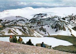 1 AK Island * Blick Zum Torfajökull Gletscher - Er Liegt In Der Region Der Warmen Quellen Von Landmannalaugar * - Island