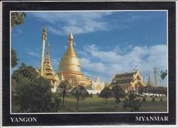 MYANMAR  YANGONG MAHA WIZEYA PAGODA     Nice Stamp - Myanmar (Burma)