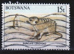 Botswana 1987 Single 15t Commemorative Stamp From The Animals Of Botswana Set. - Botswana (1966-...)